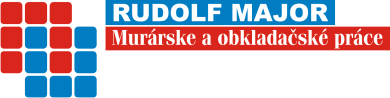 RUDOLF MAJOR – murárske a obkladačské práce logo